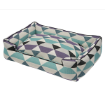 Origami Plum Lounge Dog Bed